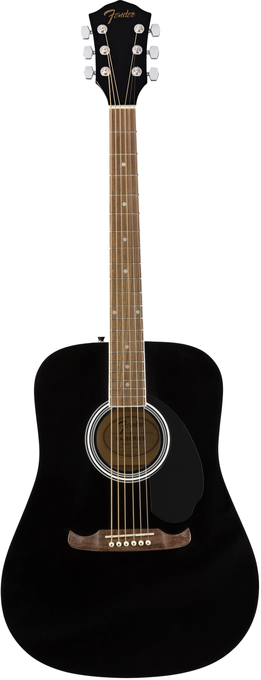 Fender FA-125 Dreadnought Black - Regent Sounds
