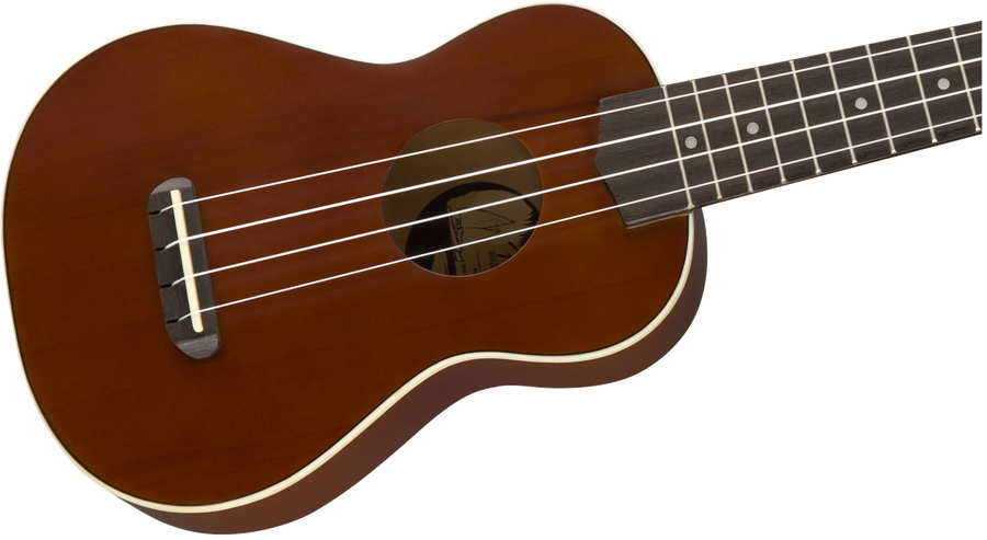 Fender Soprano Venice Ukulele Natural - Regent Sounds
