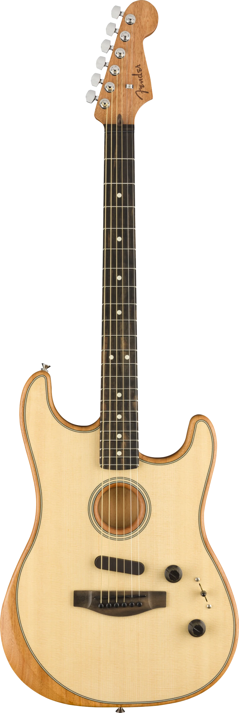 Fender Acoustasonic Stratocaster Natural - Regent Sounds
