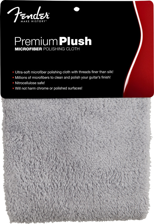 Fender Premium Plush Microfiber Polishing Cloth - Regent Sounds
