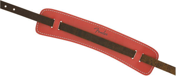 Fender Original Leather Strap Fiesta Red - Regent Sounds
