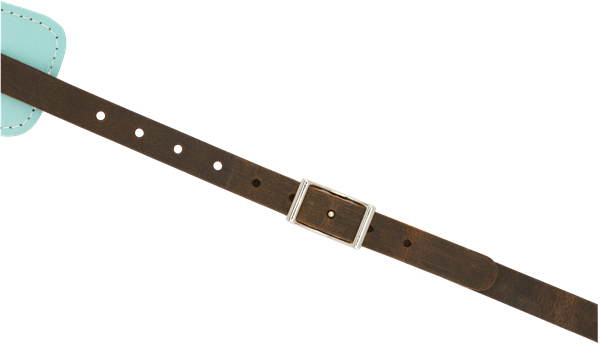 Fender Original Leather Strap Daphne Blue - Regent Sounds