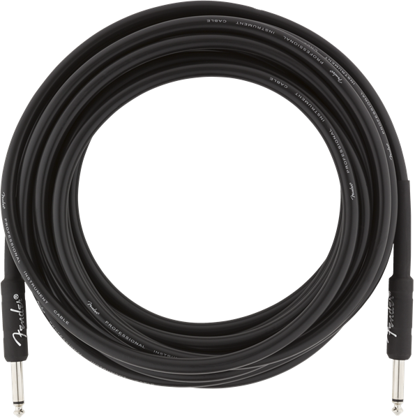 Fender Professional Series 18.6' Cable Black - Regent Sounds