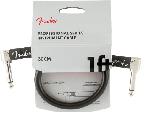Fender Professional Series 1' Cable Black