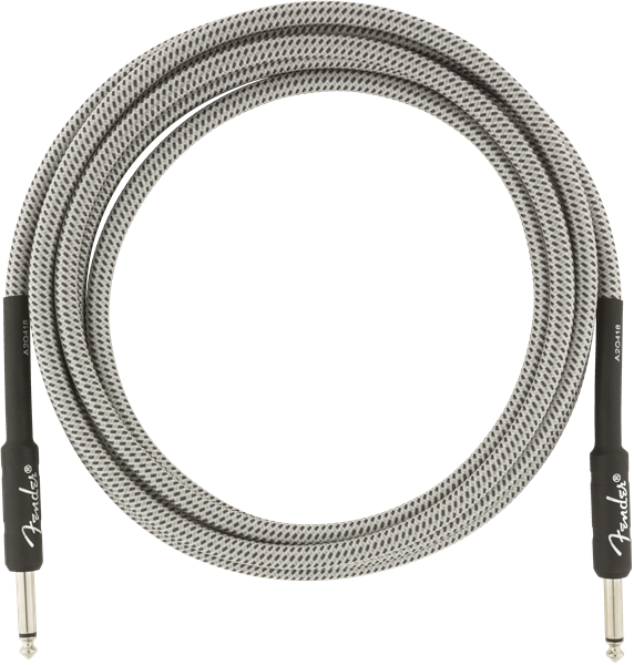 Fender Professional Series 10' Cable White Tweed - Regent Sounds
