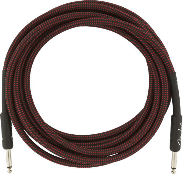 Fender Professional Series 15' Cable Red Tweed - Regent Sounds