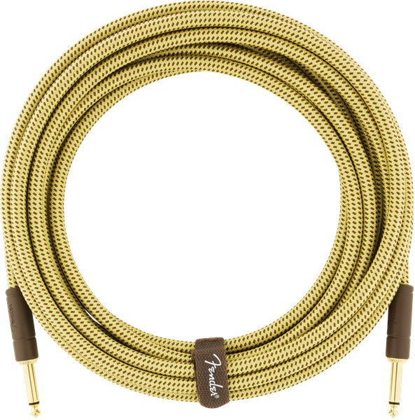 Fender Deluxe Series 10ft Straight Cable Tweed - Regent Sounds