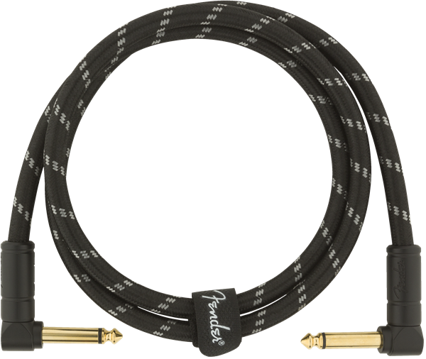 Fender Deluxe Series 3' Cable Angle Black Tweed - Regent Sounds