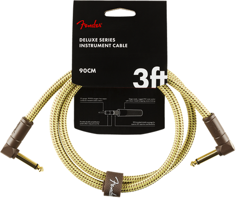 Fender Deluxe Series 3' Cable Angle Tweed - Regent Sounds