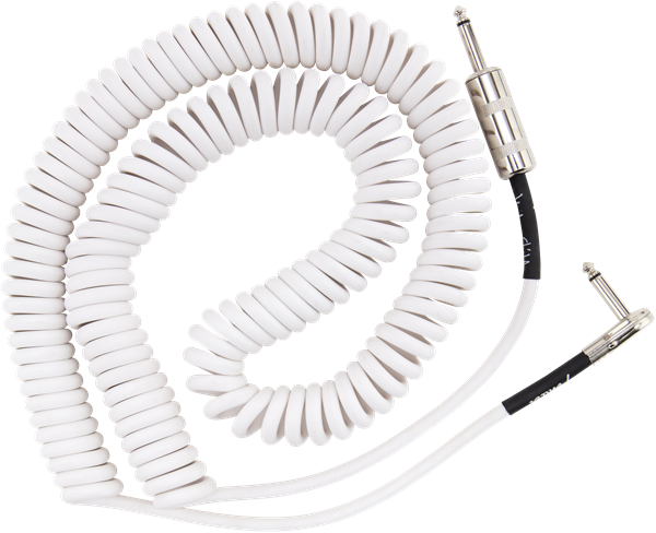Fender Jimi Hendrix Voodoo Child Cable White 30' - Regent Sounds