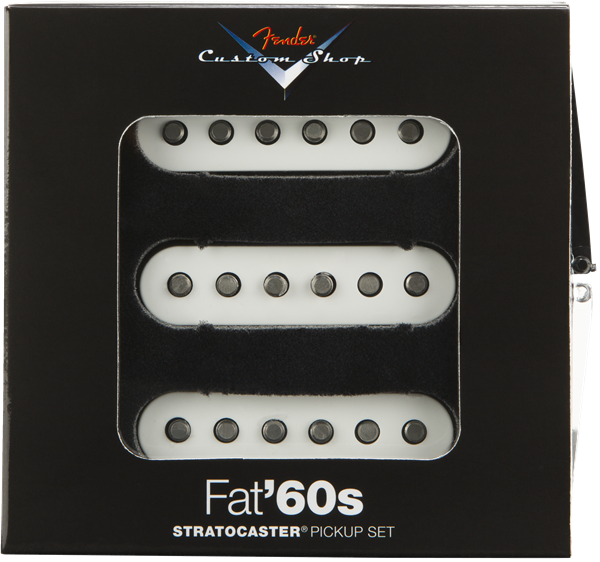 Fender Custom Shop Fat 60's Strat Pickup Set - Regent Sounds