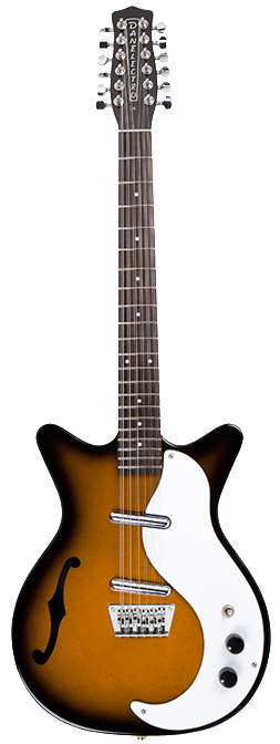 Danelectro '59 12 String Guitar Tobacco Sunburst - Regent Sounds