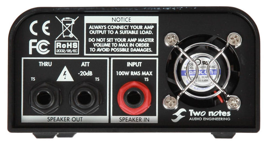 Two Notes Torpedo Captor 8 Ohm Compact Loadbox - Regent Sounds