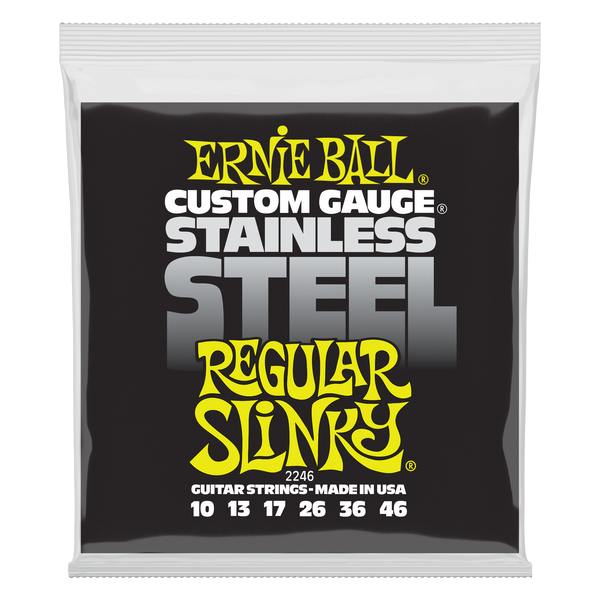 Ernie Ball Stainless Steel Regular Slinky 10-46 - Regent Sounds