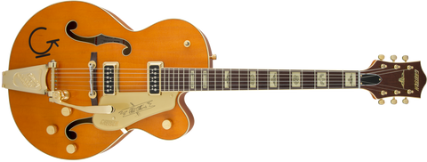 Gretsch G6120T-55 Vintage Select Edition Chet Atkins TV Jones Vintage Orange Stain Lacquer <span>2401357822</span> - Regent Sounds