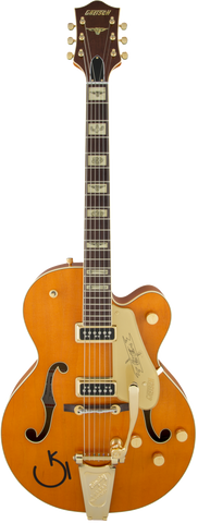 Gretsch G6120T-55 Vintage Select Edition Chet Atkins TV Jones Vintage Orange Stain Lacquer <span>2401357822</span>