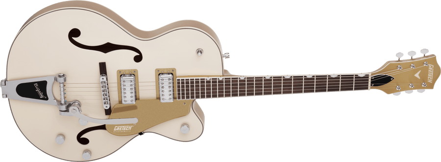 Gretsch G5410T Ltd Ed Electromatic Tri-Five Hollow Body Vintage White/Casino Gold - Regent Sounds