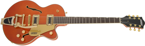 Gretsch G5655-TG Centre Block Junior Orange Stain Gold Hardware