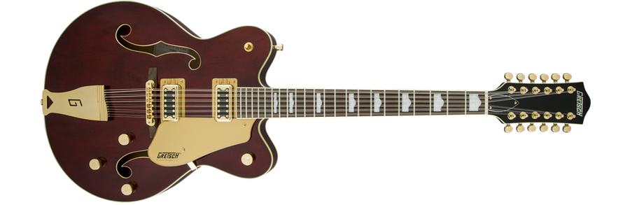 Gretsch G5422TG Electromatic Bigsby Walnut Stain 12 String - Regent Sounds