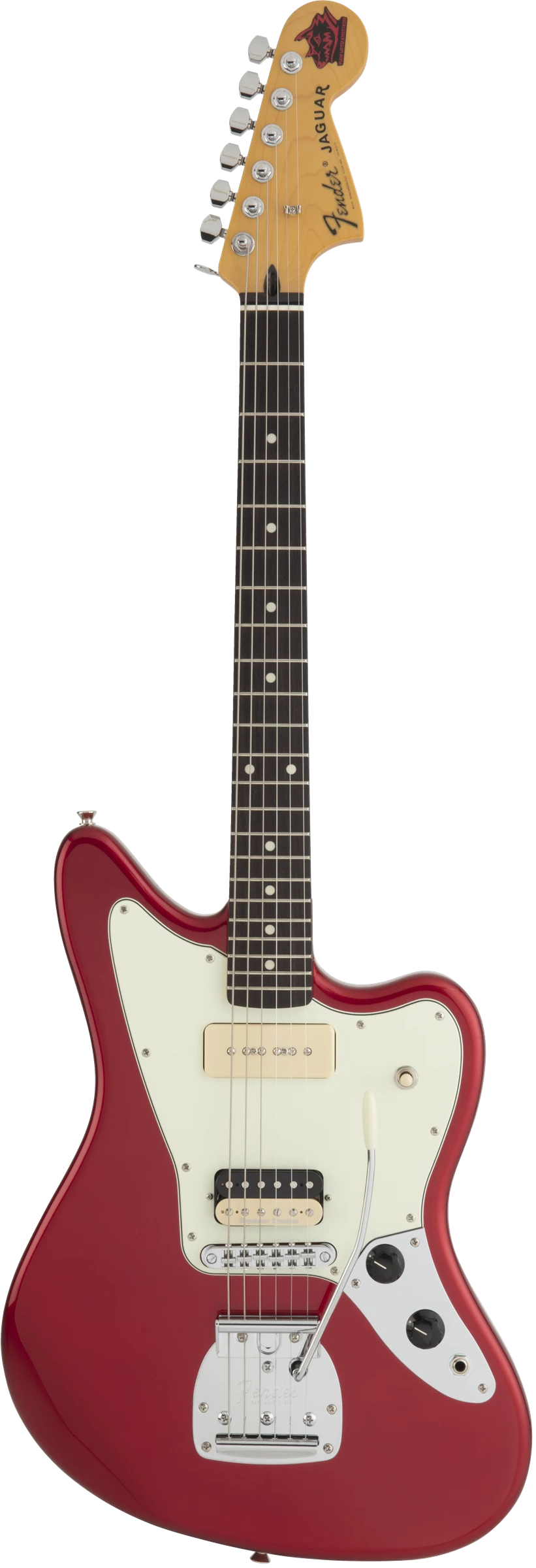 Fender Jean-Ken Johnny Jaguar Candy Apple Red RW - Regent Sounds