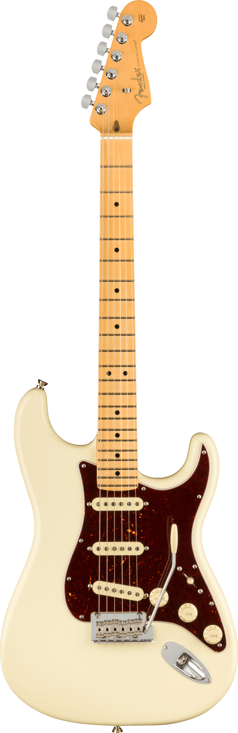 Fender American Professional II Stratocaster Olympic White MN - Regent Sounds