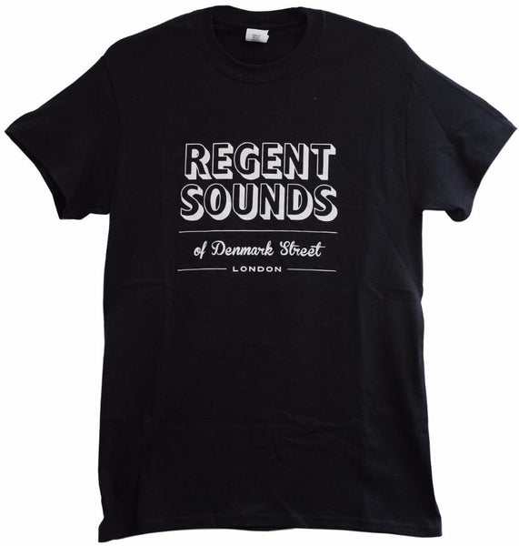 Regent Sounds T-Shirt Black - Regent Sounds