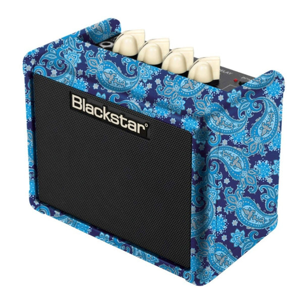 Blackstar Fly 3 Bluetooth Blue Paisley - Regent Sounds