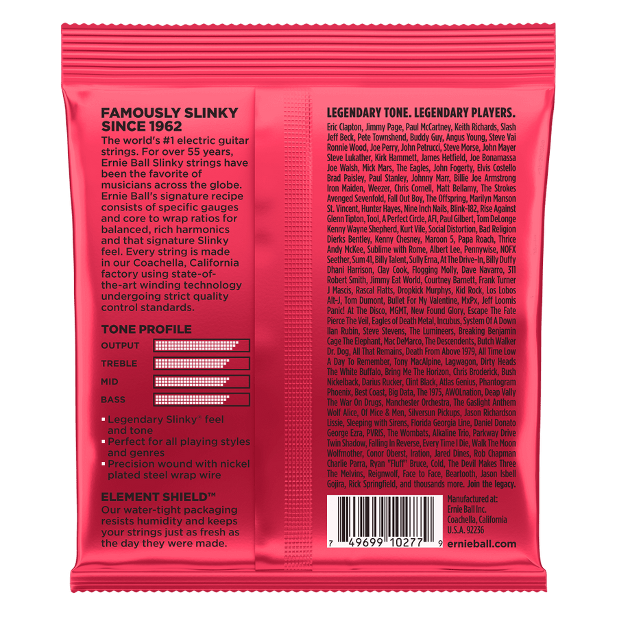 Ernie Ball Burly Slinky 11-52 - Regent Sounds