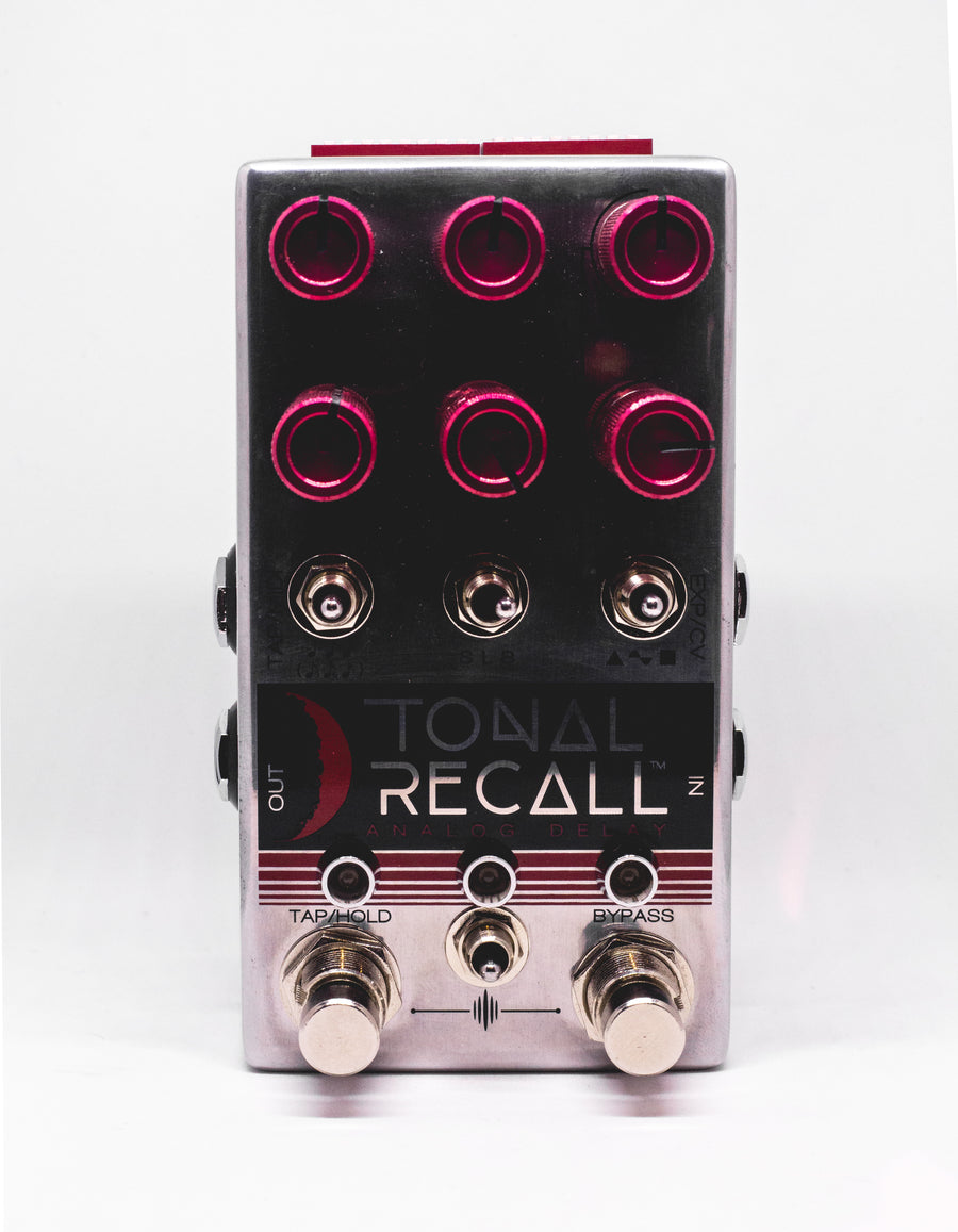Chase Bliss Audio Tonal Recall Red Knob Version - Regent Sounds