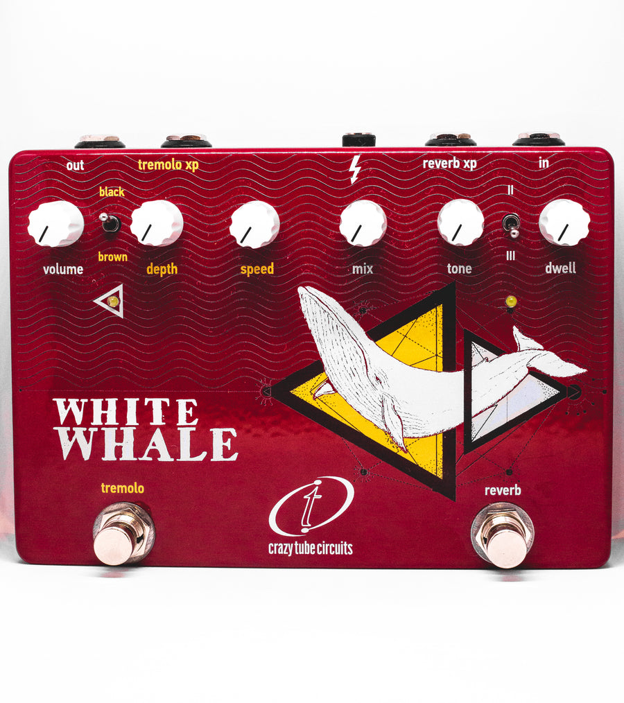 Crazy Tube Circuits White Whale Reverb + Tremolo - Regent Sounds