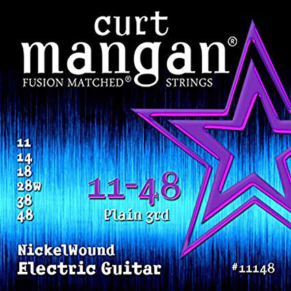 Curt Mangan Nickel wound 11 - 48 - Regent Sounds