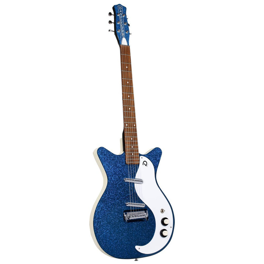 Danelectro 60th Anniversary DC59 Deep Blue Metal Flake - Regent Sounds