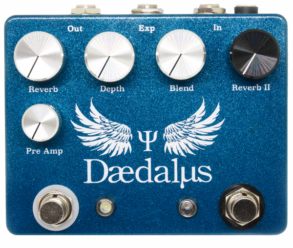 Coppersound Pedals Daedalus Dual Reverb