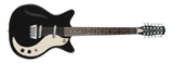 Danelectro DC59 Vintage 12 String Gloss Black - Regent Sounds