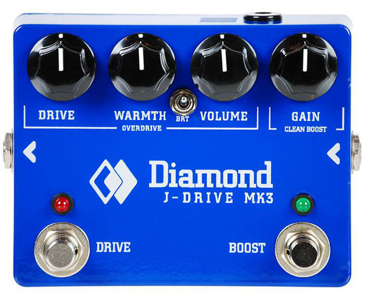 Diamond J-Drive MkIII Overdrive/Clean Boost - Regent Sounds