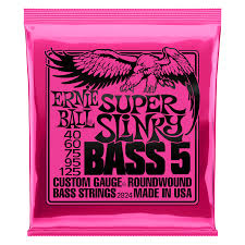 Ernie Ball Super Slinky Bass 5 40-125 - Regent Sounds