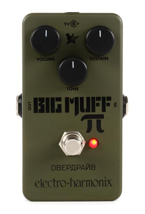 Electro Harmonix Nano Green Russian Big Muff - Regent Sounds