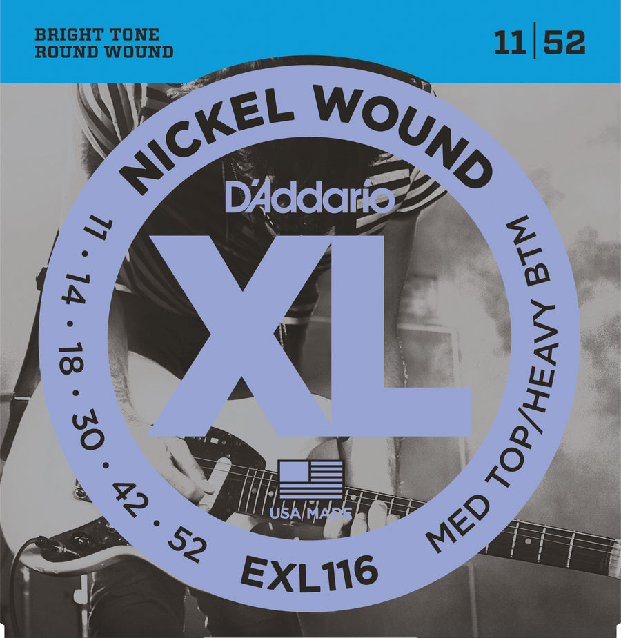 D'Addario EXL116 11-52 - Regent Sounds