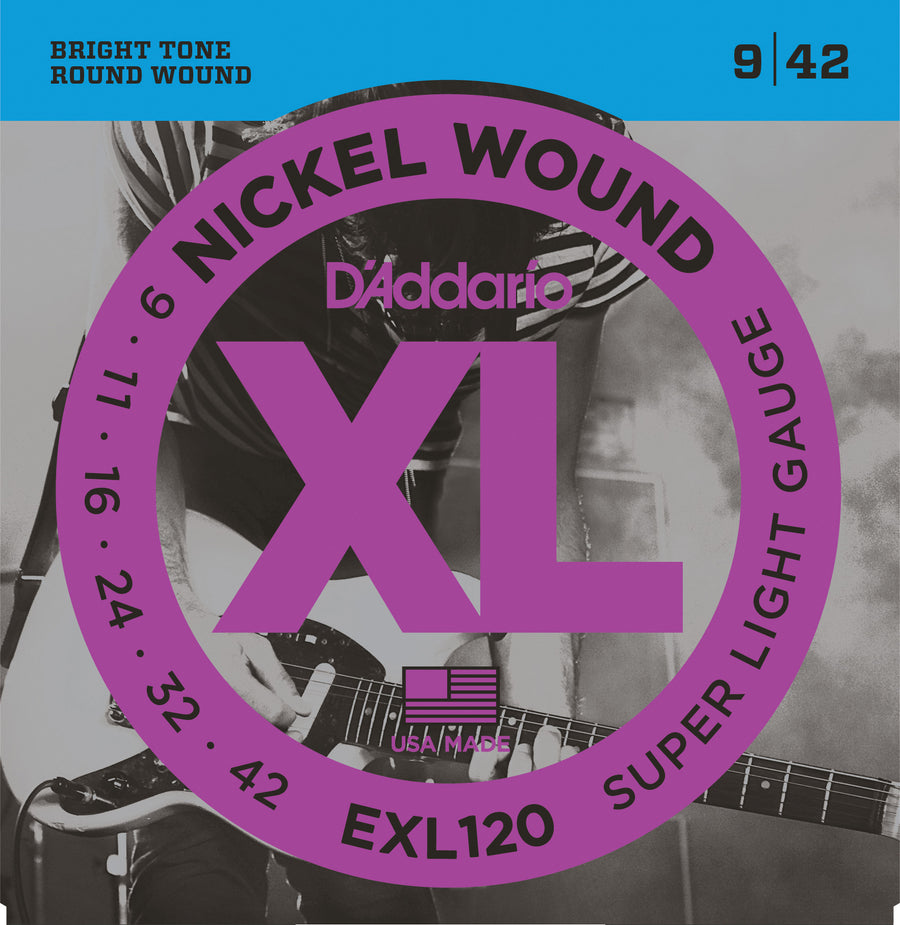 D'Addario EXL120 9-42 - Regent Sounds