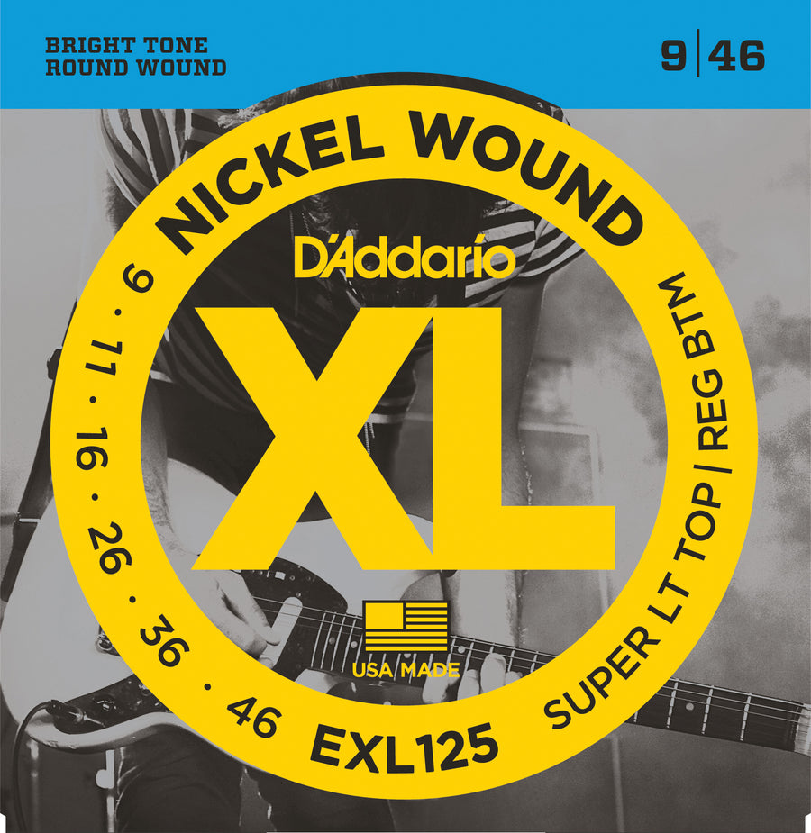 D'Addario EXL125 9-46 - Regent Sounds