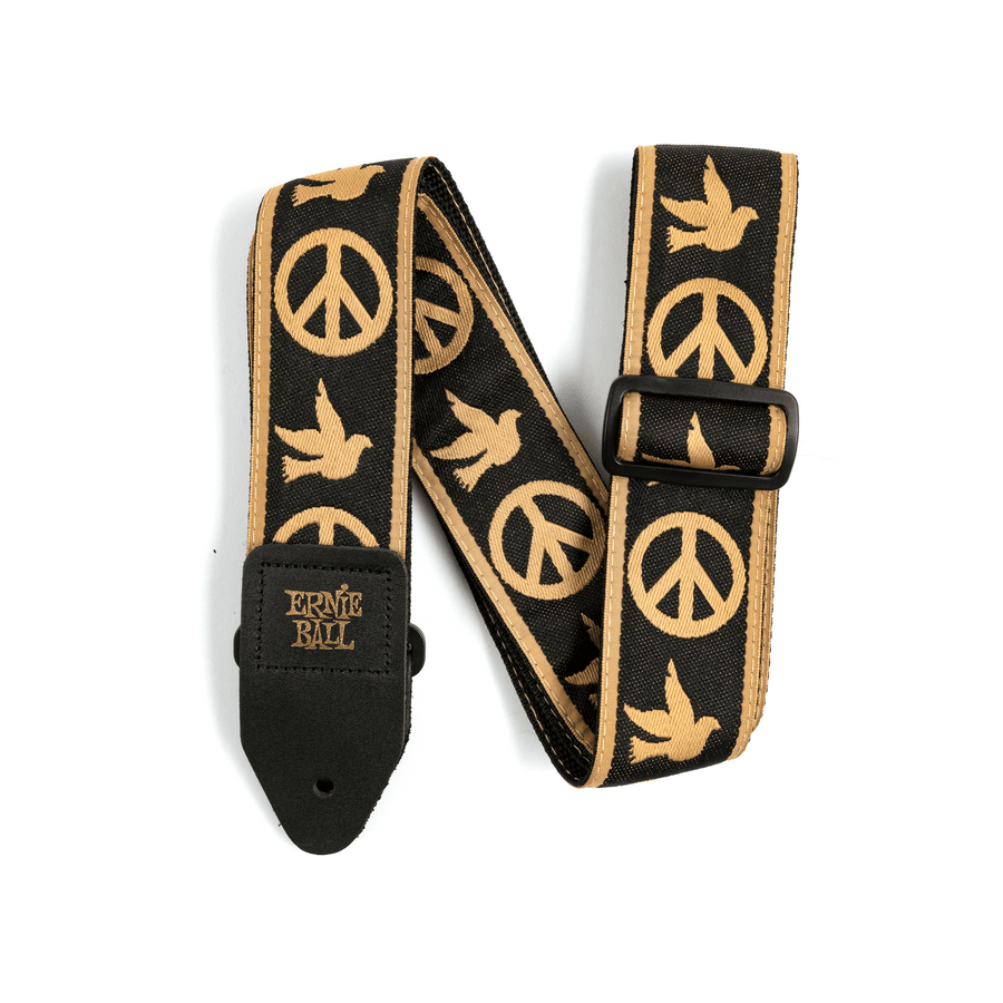 Ernie Ball Peace Love Dove Jacquard Strap - Regent Sounds