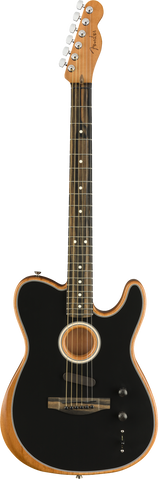 Fender American Acoustasonic Telecaster Black - Regent Sounds