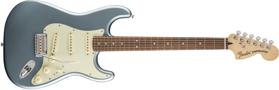 Fender Deluxe Roadhouse Stratocaster Mystic Ice Blue PF - Regent Sounds