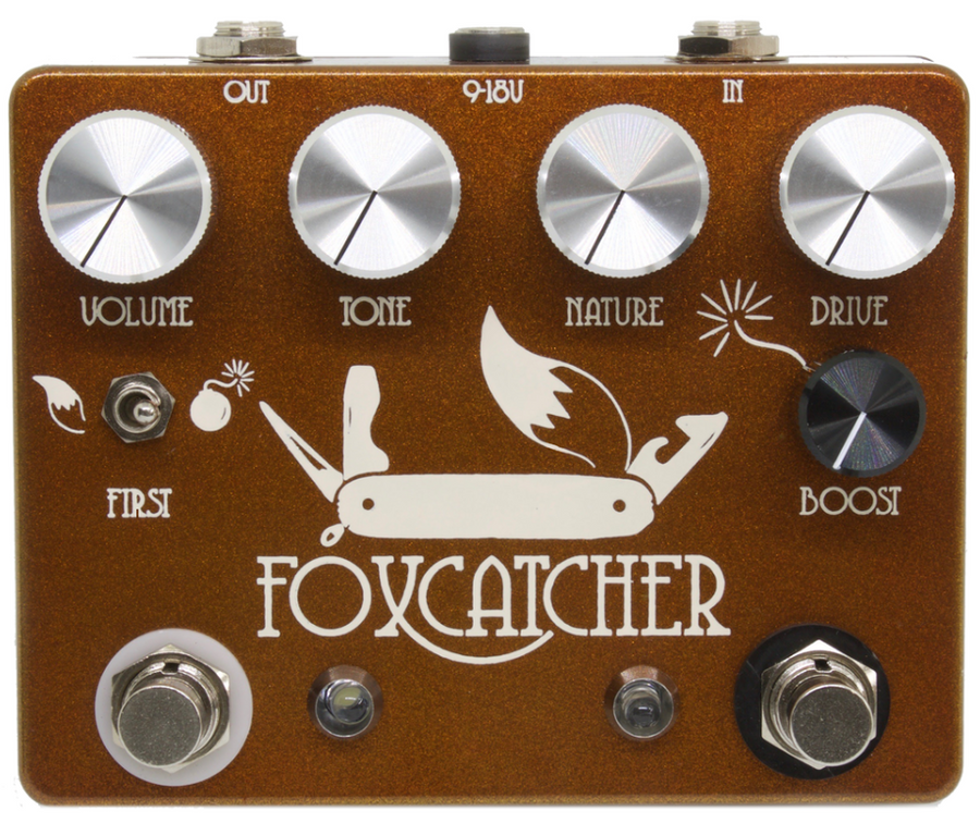 CopperSound Foxcatcher Overdrive Pedal - Regent Sounds