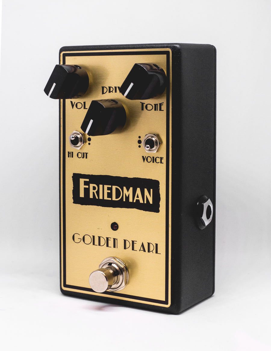 Friedman Golden Pearl Overdrive - Regent Sounds