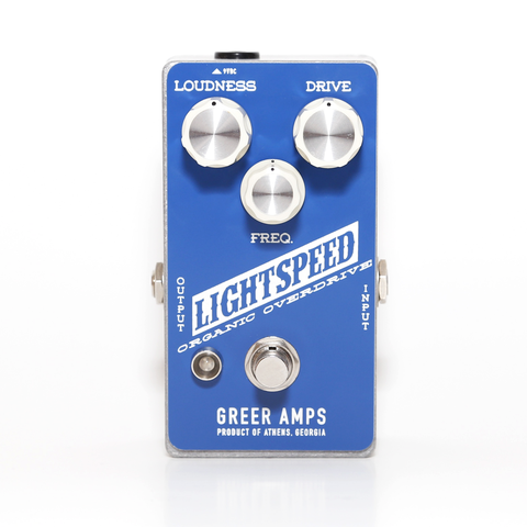 Greer Amps Lightspeed Organic Overdrive - Regent Sounds