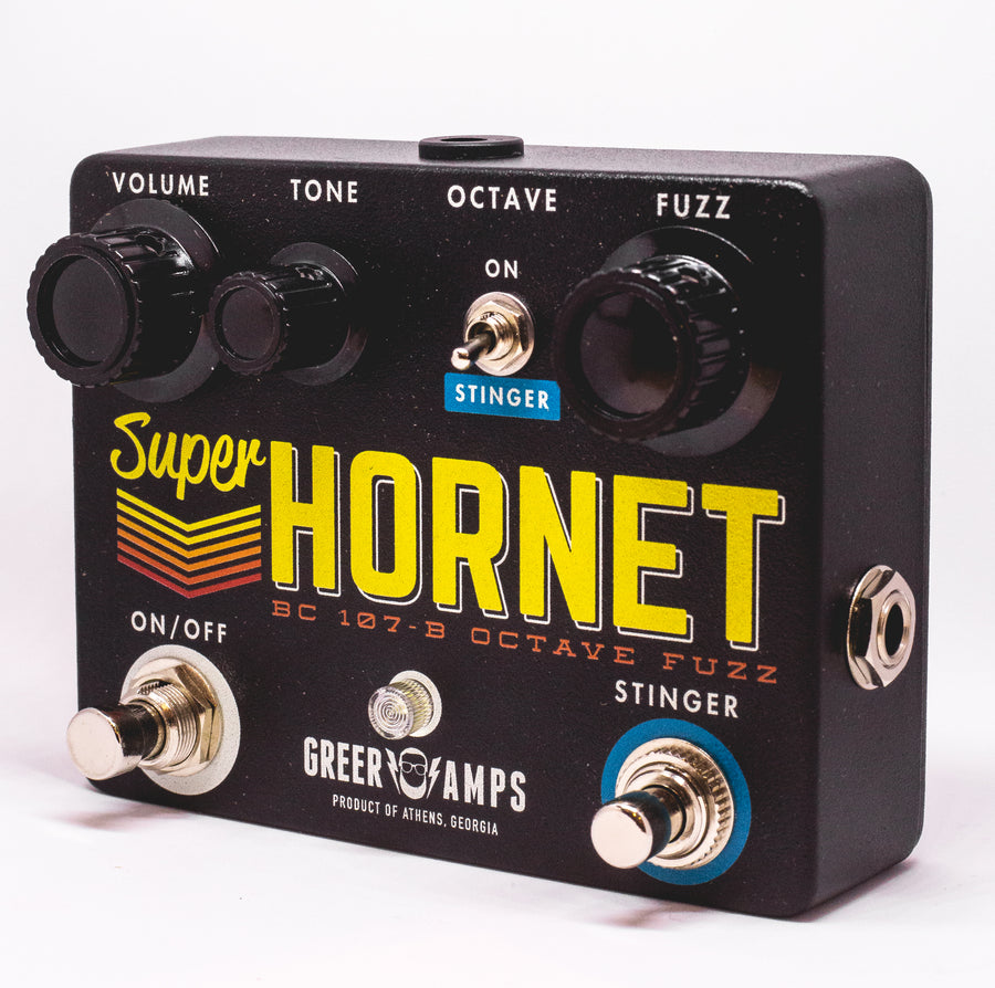 Greer Amps Super Hornet Octave Fuzz - Regent Sounds