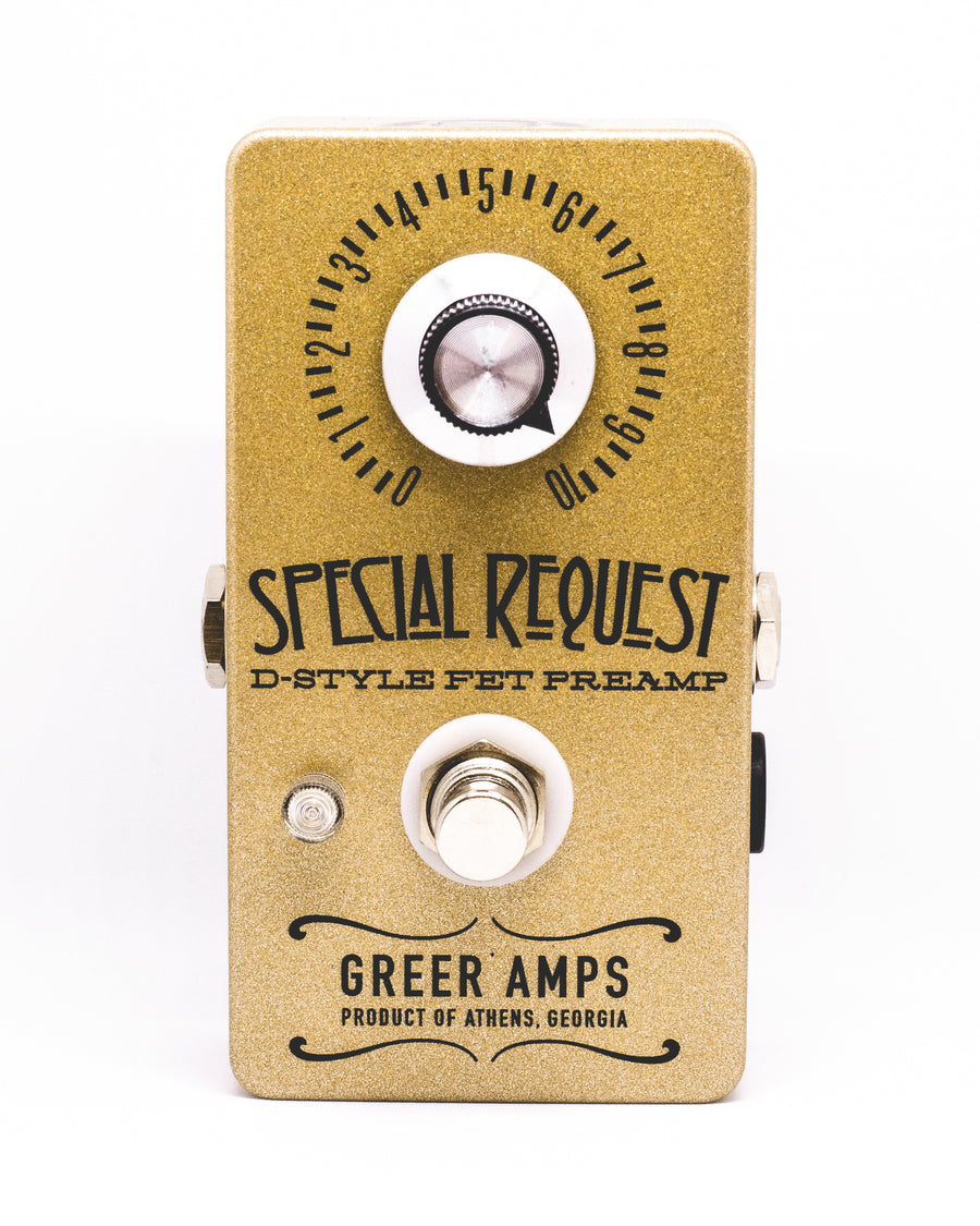 Greer Amps Special Request Preamp/Boost - Regent Sounds