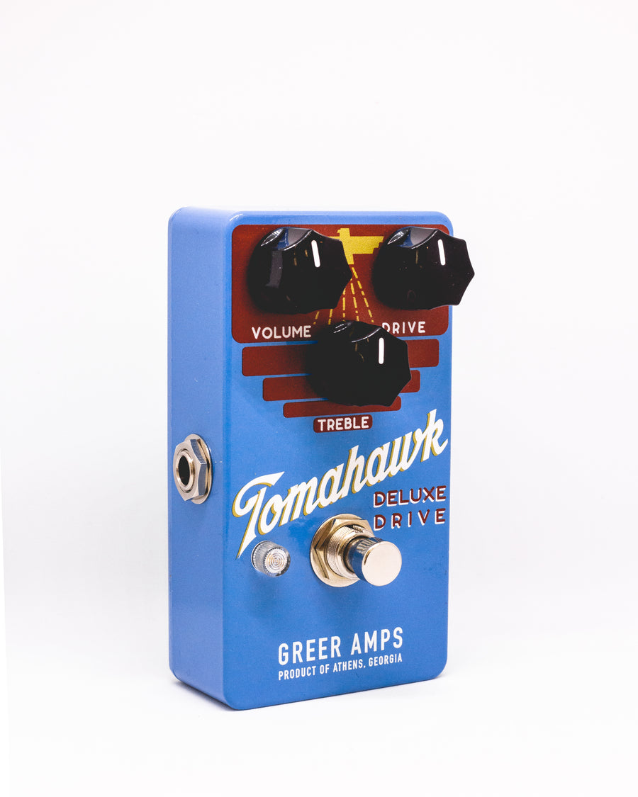 Greer Amps Tomahawk Overdrive - Regent Sounds