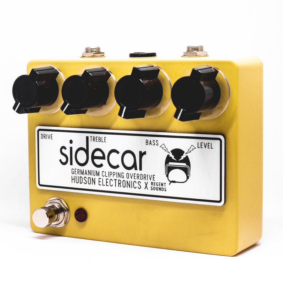 Hudson Electronics x Regent Sounds Sidecar Ltd Ed Sand Yellow - Regent Sounds